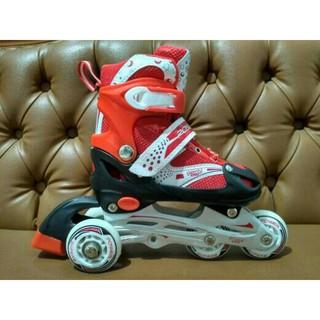 Sepatu Roda Bajaj Power Superb Inline Skate Pink Biru Merah  ab7f8081da