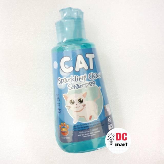 SPARKLING CLEAN CAT Shampo Hewan 150mL / Shampoo anjing kucing musang kelinci RAID ALL-1