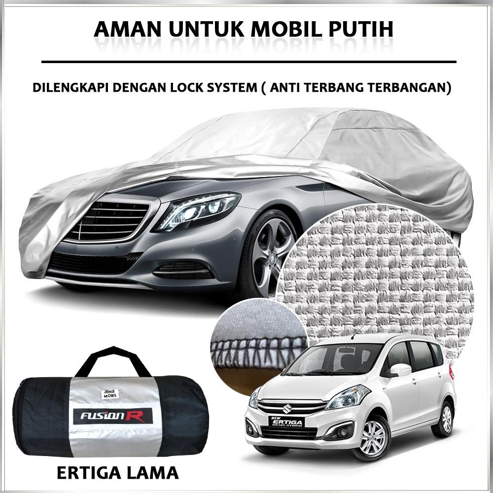 Cover Mobil Khusus Putih Sarung Warna Ukuran Body Vios Small Mpv Avanza Calya Ertiga Shopee Indonesia