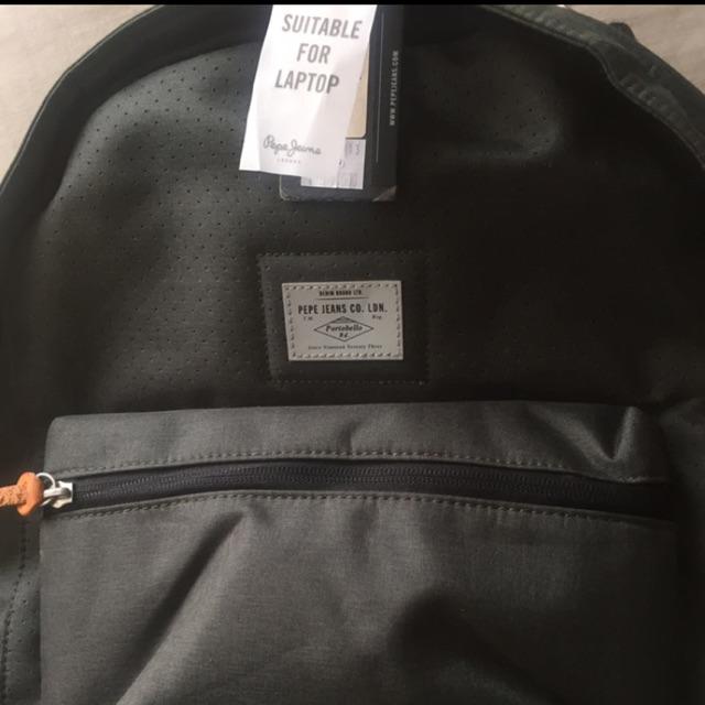 Casual Backpack Pepe Jeans New Original Shopee Indonesia