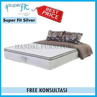 Comforta Super Fit Silver Putih Komplit Set Uk. 180x200   Shopee Indonesia
