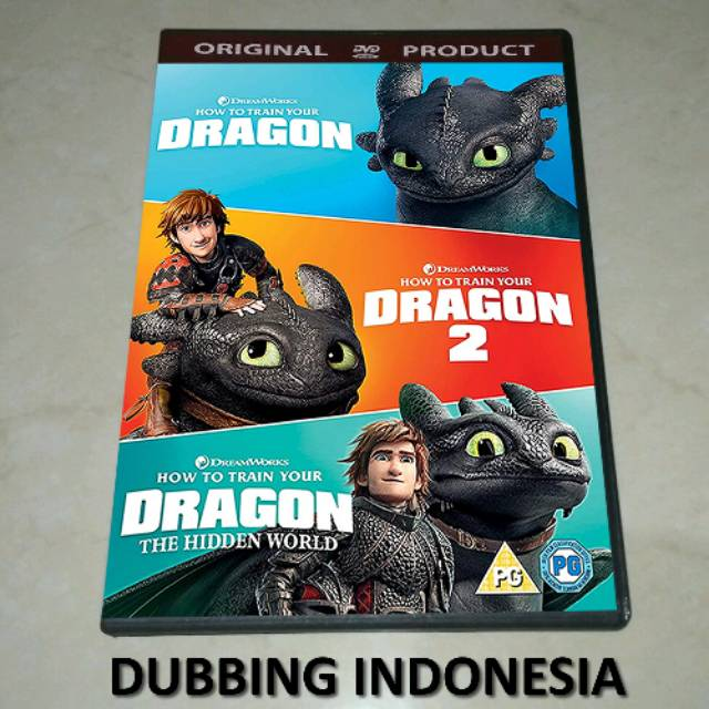 Dvd How To Train Your Dragon 2010 2019 Shopee Indonesia