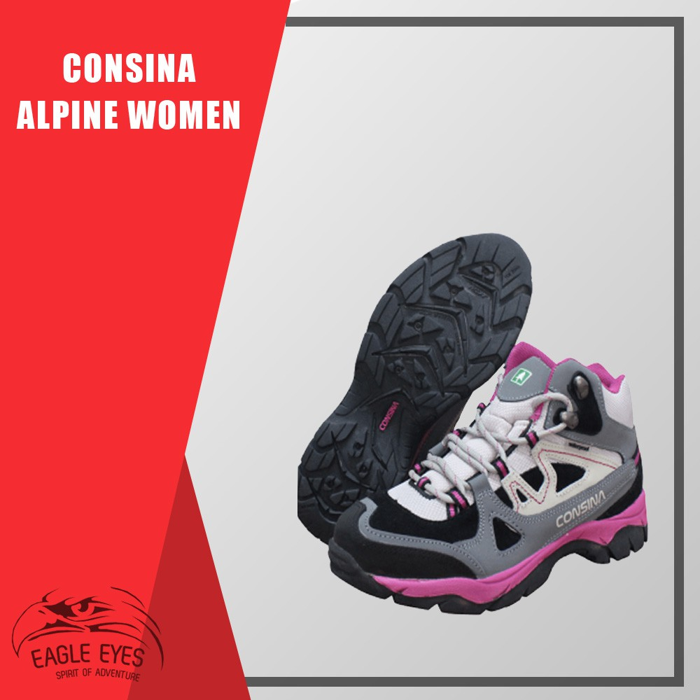 Sepatu Gunung   Sepatu Cewek   Sepatu Consina Alpine Women Pink ... b277aa0429