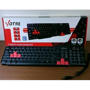 Promo Keyboard Komputer Merk Vorte Berkualitas Shopee Indonesia