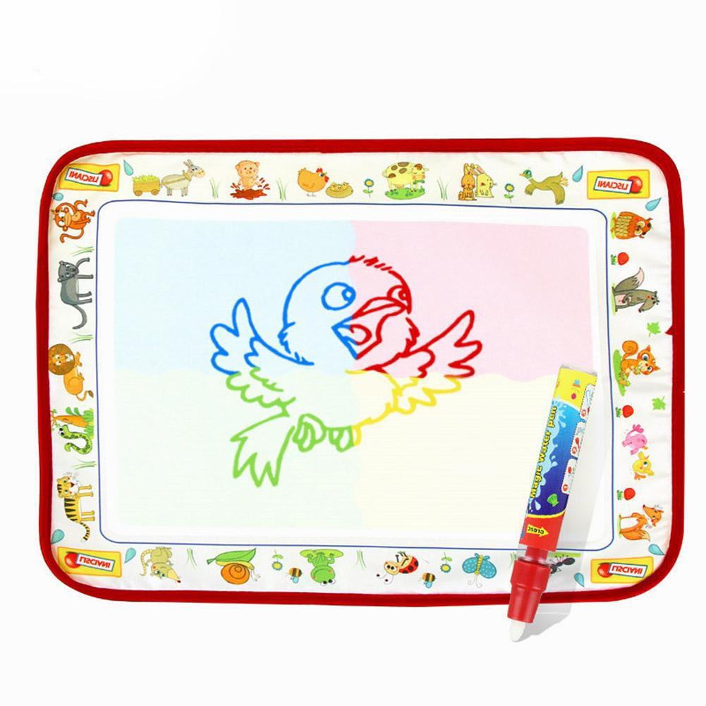 ღbaby Water Painting Cloth With Magic Pen Kids Doodle Water