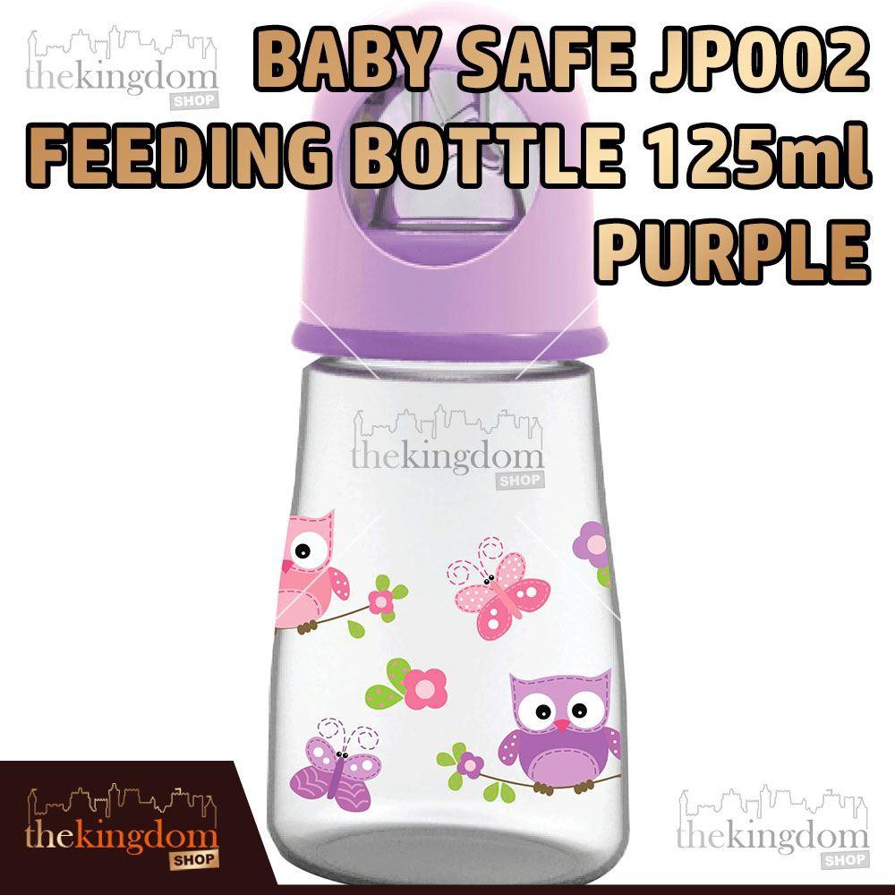 Baby Safe JP002 Feeding Bottle 125ml Purple Botol Susu Anak Bayi Ungu   Shopee Indonesia