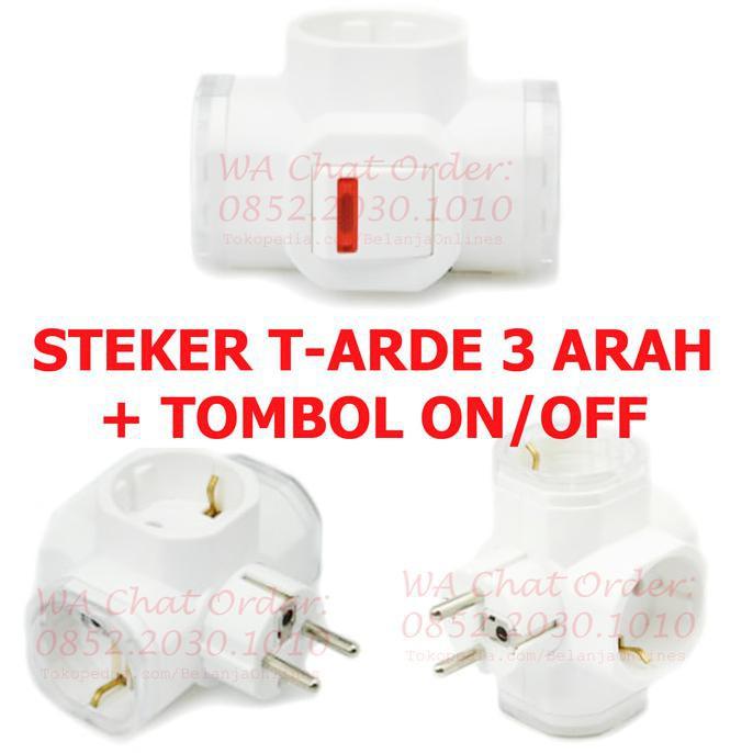 Dijual STEKER LAMPU BROCO DENGAN TOMBOL ON OFF COLOKAN LISTRIK STEKER LISTRIK Murah | Shopee Indonesia