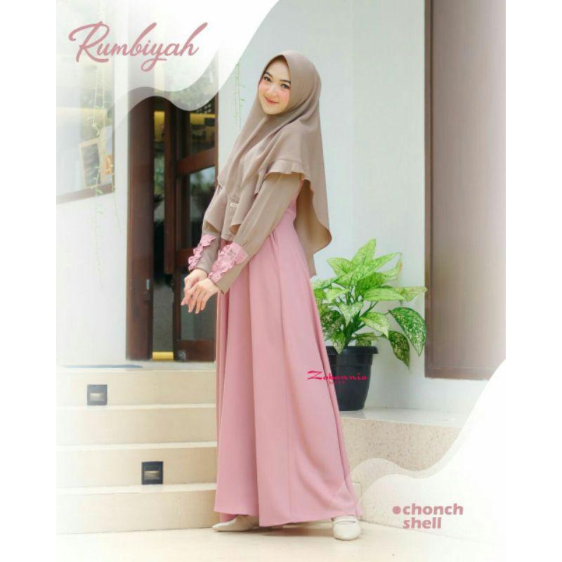 dress rumbiyah by zabannia