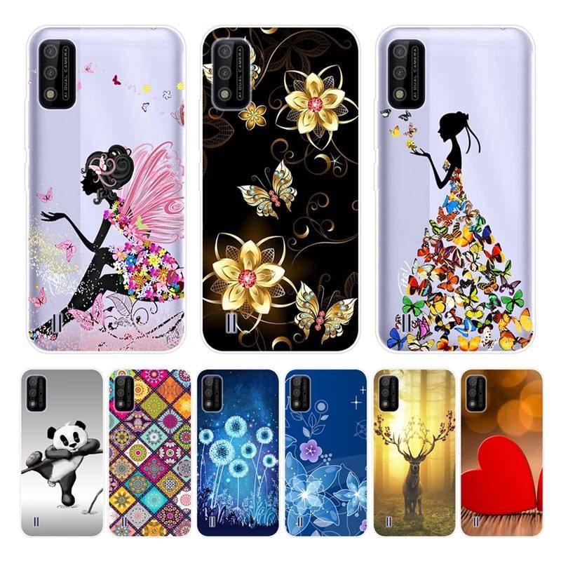 itel A26 Case Silicone TPU Cartoon Soft Cover Phone Case ITEL A26 itelA26 Full protection Case