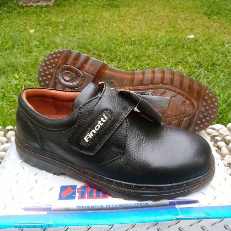 Sepatu Finotti sol terang/kaca, Finotti 93786, Pantofel pria, sepatu kulit