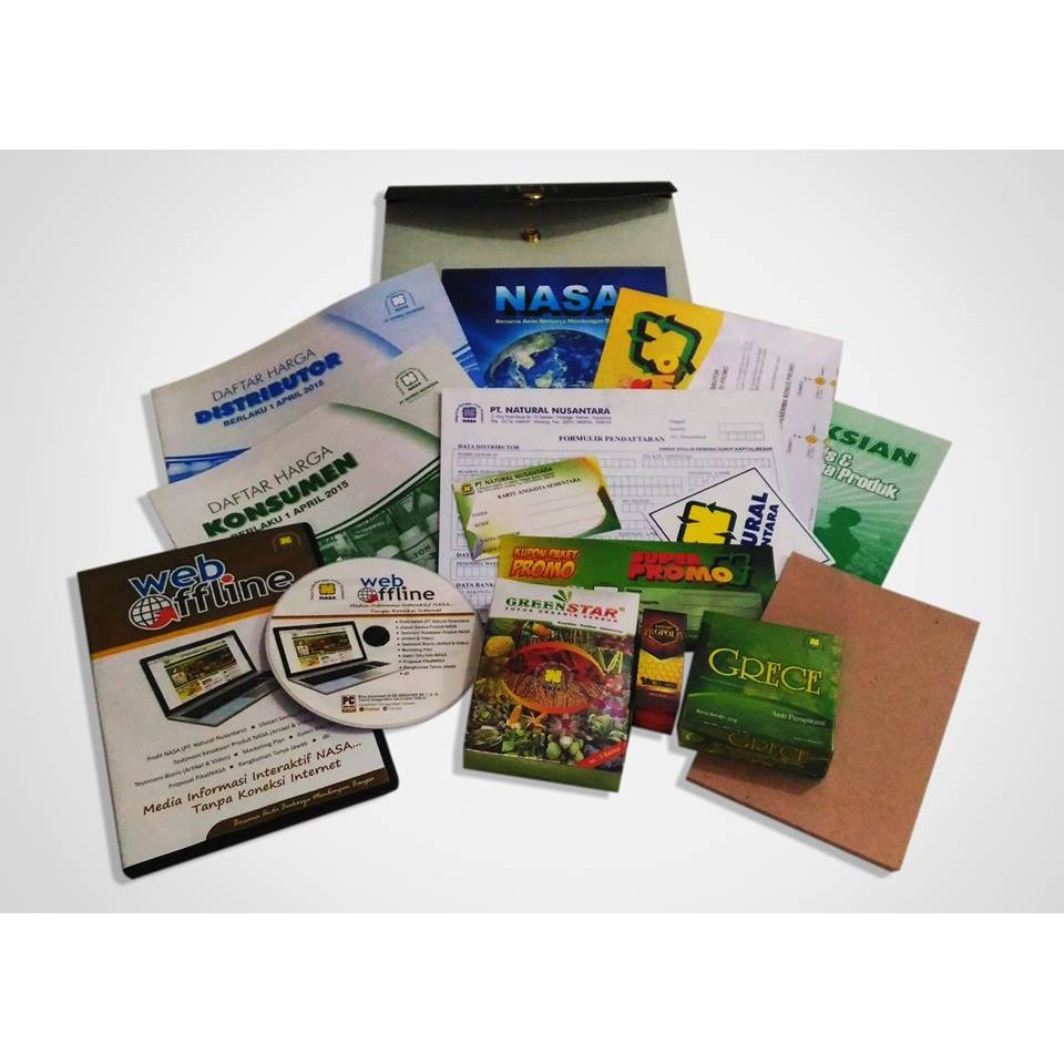 Kit Pendaftaran Distributor Resmi Nasa Shopee Indonesia Penan