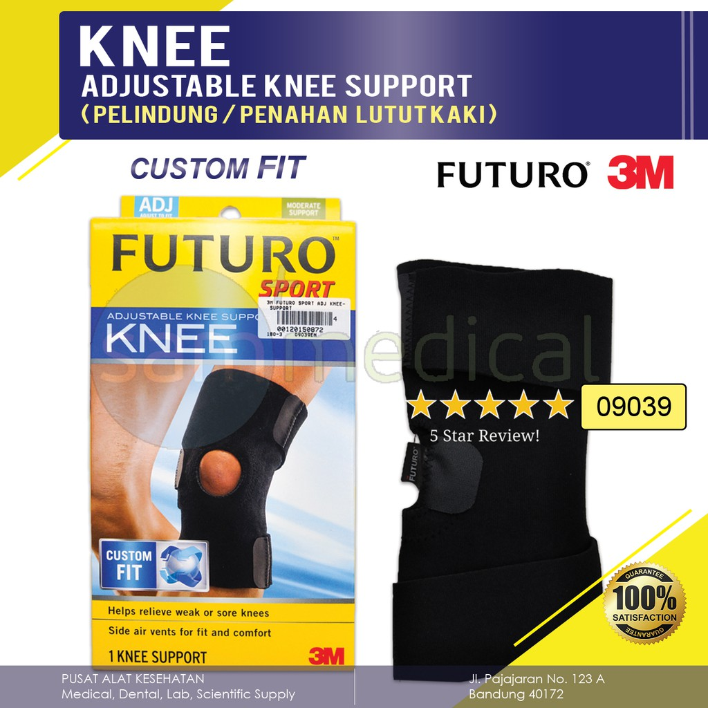 Oppo 1033 Patella Stabilizer Decker Lutut Knee Deker Shopee Indonesia Aolikes Adjustable Support Peyangga Strap All Size Tali 3