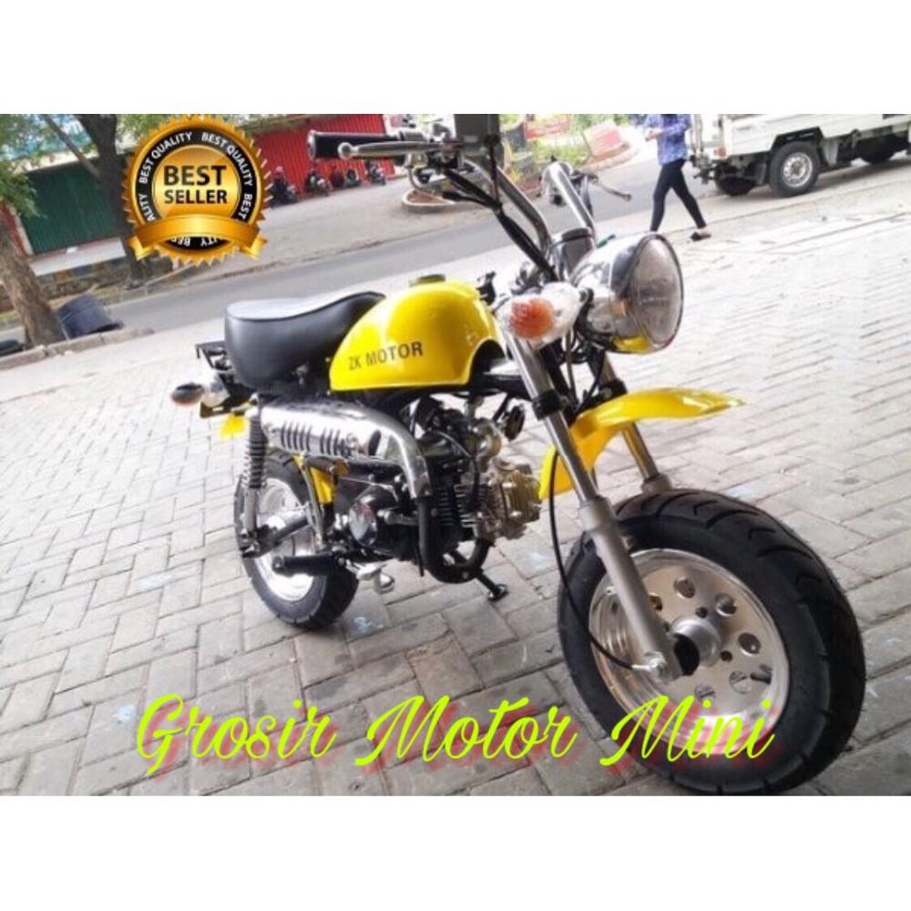 Motor Mini Trail Monkey 125cc Gorilla Honda Termurah Limited Shopee Indonesia