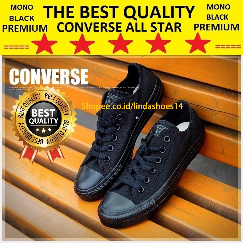 5bf8a2c7d07 LS14 ® -【BISA COD】SEPATU CONVERSE CT ALL STAR FASHION SKULL BONES FULL MONO  BLACK