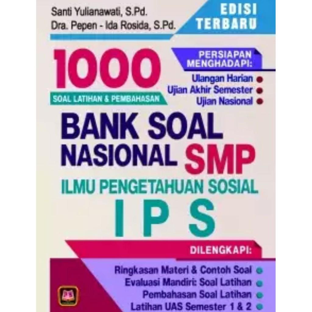 Buku Bank Soal Nasional Ips Smp Kelas 7 8 9 1000 Soal Dan Pembahasan Shopee Indonesia