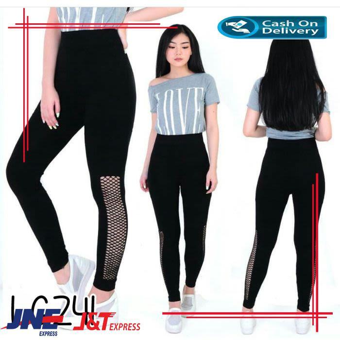 Celana Legging Panjang Leging Polos Warna Hitam Lejing Wanita Bm679 Shopee Indonesia