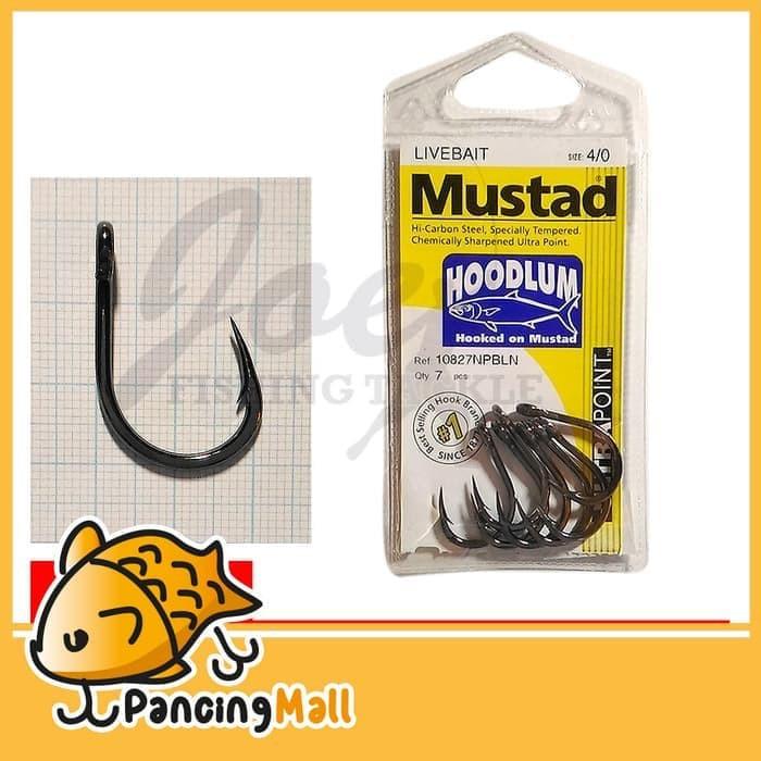 3 Pack Lots Mustad Kaiju In-Line Single Lure Hooks Size 4-10121NPDT