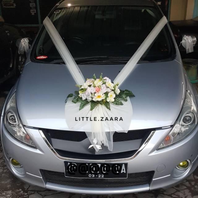Wedding Car Decoration Hiasan Mobil Pengantin Buket Dekorasi Mobil
