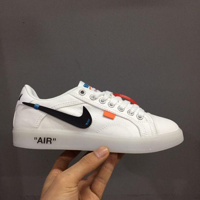 Ready Stock Offwhite Nike Air Jordan Skyhigh Og×Off White casual shoes
