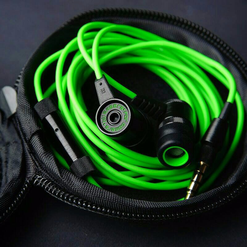 Razer Hammerhead Pro Gaming earphone headset DOTA 2 STOCK TERBATAS | Shopee Indonesia
