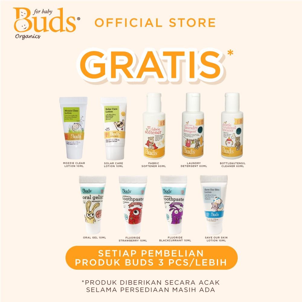 Buds Organics BFK - Orange Shampoo 350ml - Shampoo Anak Organik-2