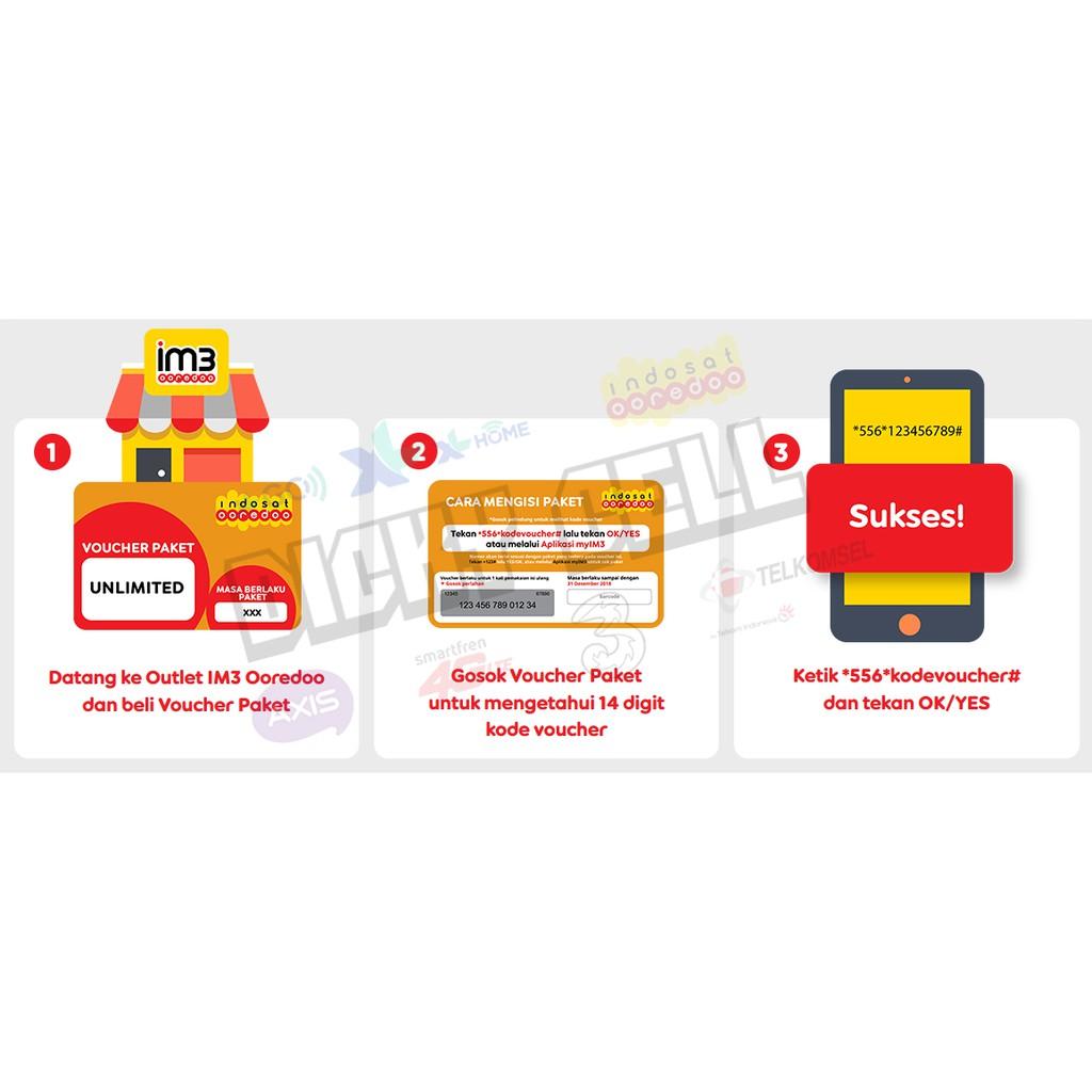 Termurah Turun Harga Paket Data Indosat Freedom Combo M 12gb L 26gb Xl 41gb Xxl 65gb
