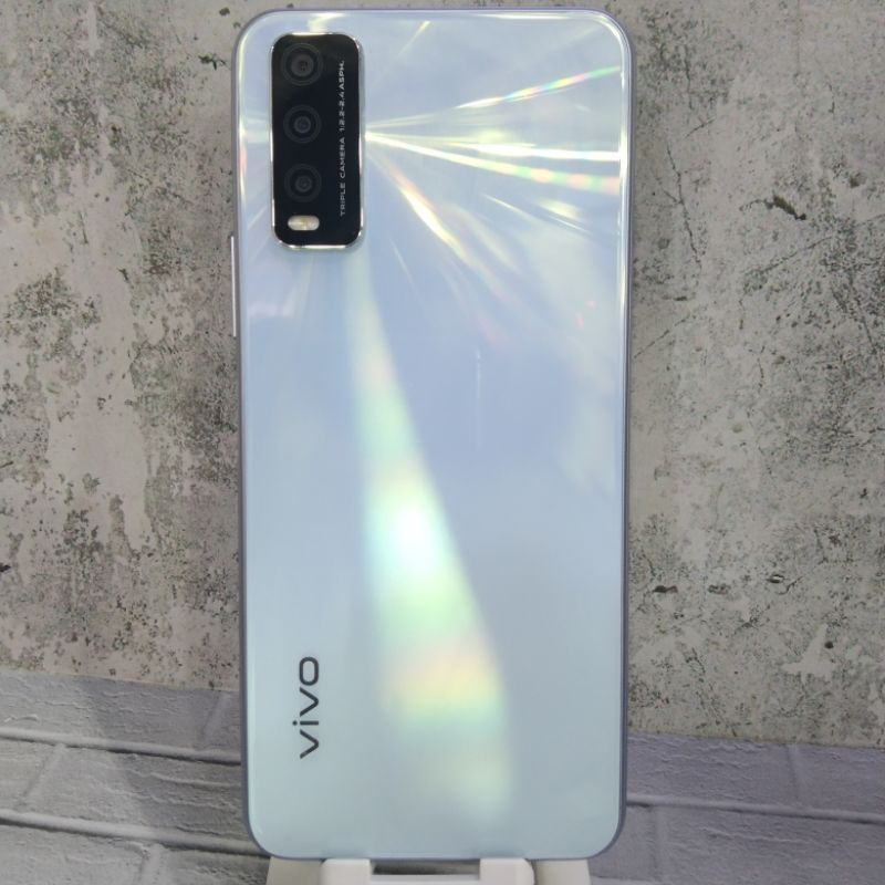 -Vivo Y20 2021 Ram 4GB Internal 64GB Second Seken Bekas Bergaransi