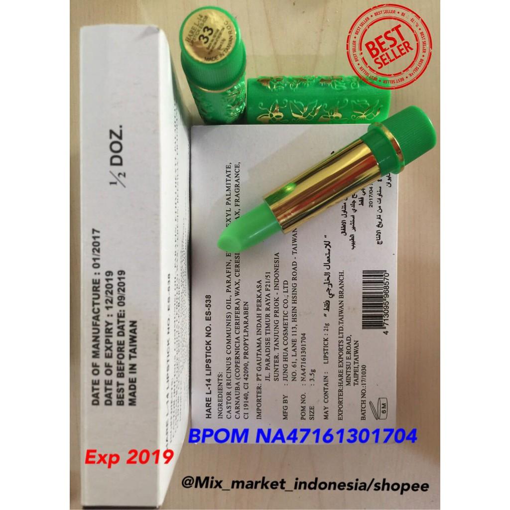 Hare Lipstick Arab Daftar Harga Terkini Dan Terlengkap Indonesia Lipstik Original Bpom Ajaib Exp Halal