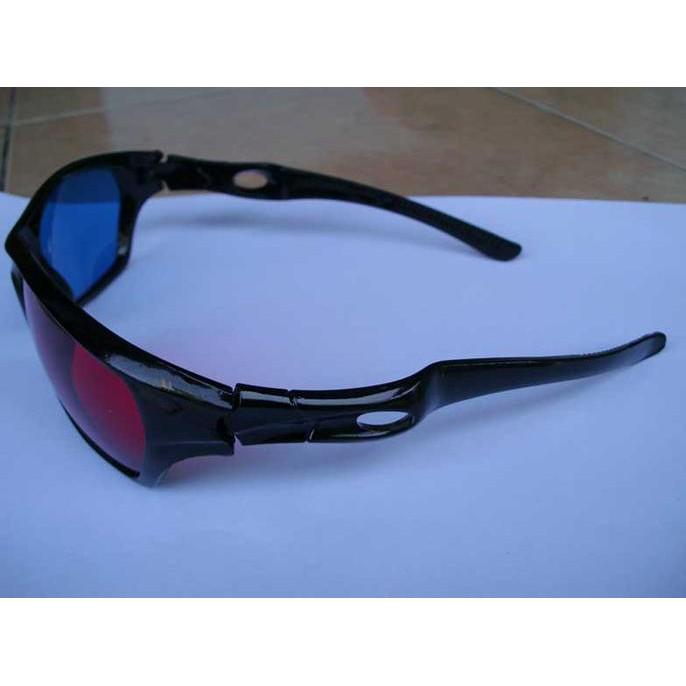 D Glasses Kacamata Kaca Mata Frame plastik nVidia Vision Red Cyan ... a83e9abd43