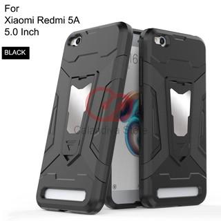 Calandiva Transformer Kickstand Slim Armor Hardcase for Xiaomi Redmi 5A 5.0 Inch