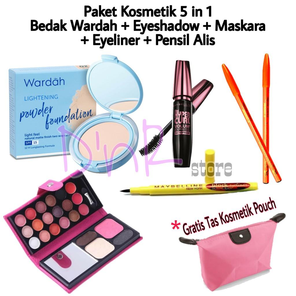 Paket Kosmetik Wardah Lengkap Murah 5 In 1 - Paket MakeUp Wardah Wanita Lengkap Murah 5 In 1