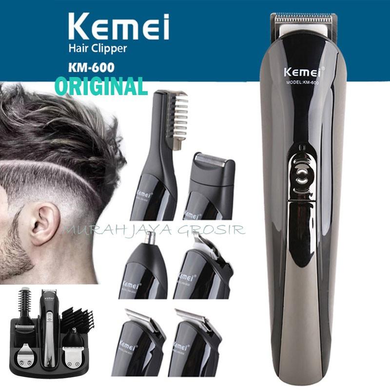 Kemei KM 600 Alat cukur rambut 6 in1  9462a40e07