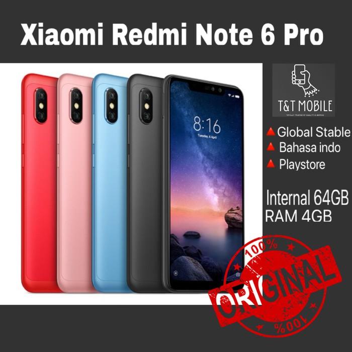 Xiaomi Redmi Note 6 Pro Ram 3gb Rom 32gb Shopee Indonesia