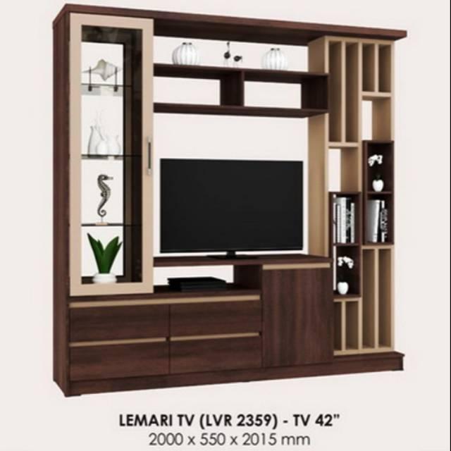 Lemari Tv Penyekat Ruangan Minimalis Shopee Indonesia