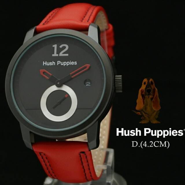Jam Tangan Pria Hush Puppies Fashion Bulat Super Shopee Indonesia