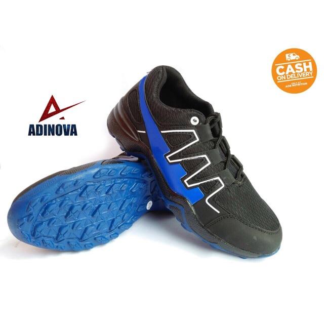 Adinova Shoes Sepatu Pria Solomo   Sepatu Olahraga Pria   Sepatu Sport Pria  - Biru  fe34e60542