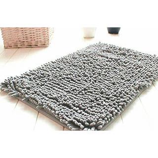 Keset Cendol Dof Abu 40 x 60 cm / karpet bulu / doormat chenille grey