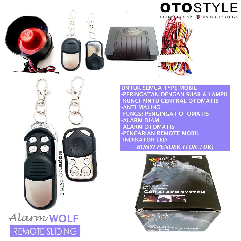 Alarm Mobil SUPER set lengkap (untuk semua mobil) kualitas Premium | Shopee Indonesia