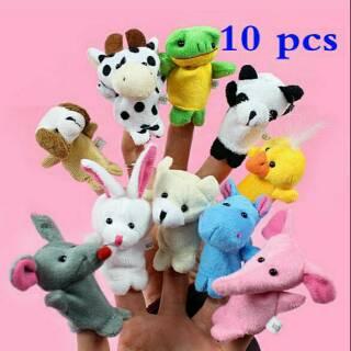Boneka Jari Anak Edisi Hewan atau Finger Animal Family Set isi 10 ... 9cd02acf95