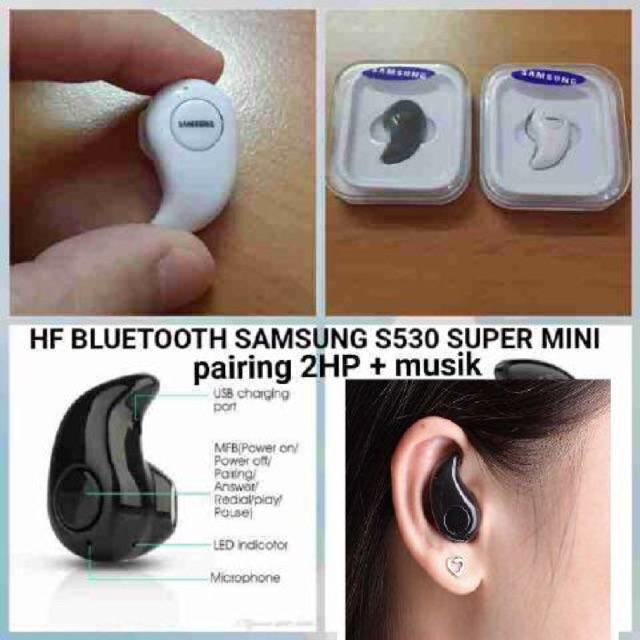 Handsfree Bluetooth Mini Samsung S530 Shopee Indonesia