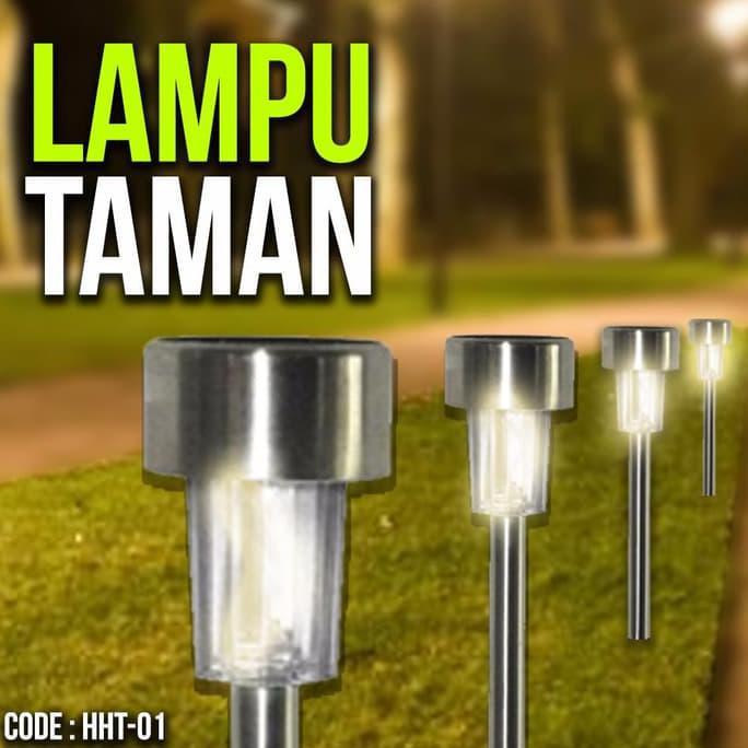 Jual Lampu Taman Tenaga Matahari Led Garden Lamp Taman Lv Tenaga Surya Murah Shopee Indonesia