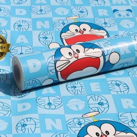 Gambar Wallpaper Dinding Doraemon