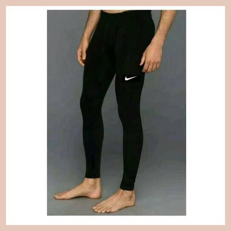 Celana Legging Leging Training Pria Futsal Gym Fitness Kiper Olahraga Shopee Indonesia