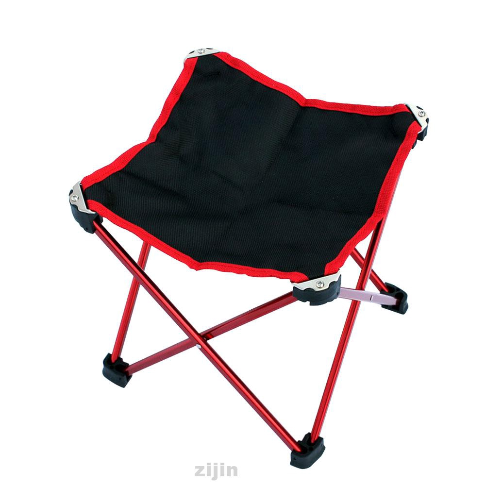 Camping Aluminum Alloy Lightweight Beach Mini Travel Portable Outdoor Folding Chair Shopee Indonesia