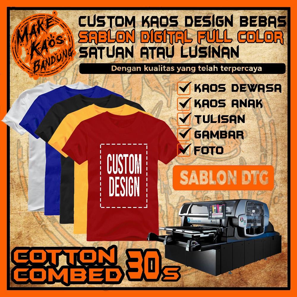 Penawaran Diskon Dan Promosi Dari Make Kaos Bandung Shopee Indonesia