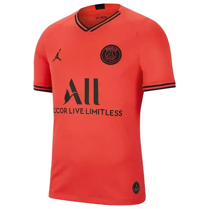 Obral Jersey Bola Psg Jordan Away 2019 2020 Official Grade Ori Import Shopee Indonesia