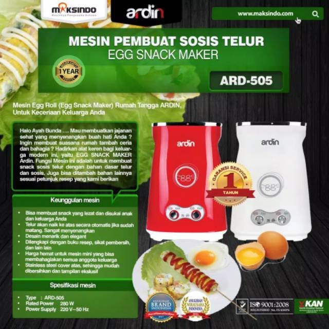 Mesin Sostel Sosis Telur 2 Lubang Shopee Indonesia