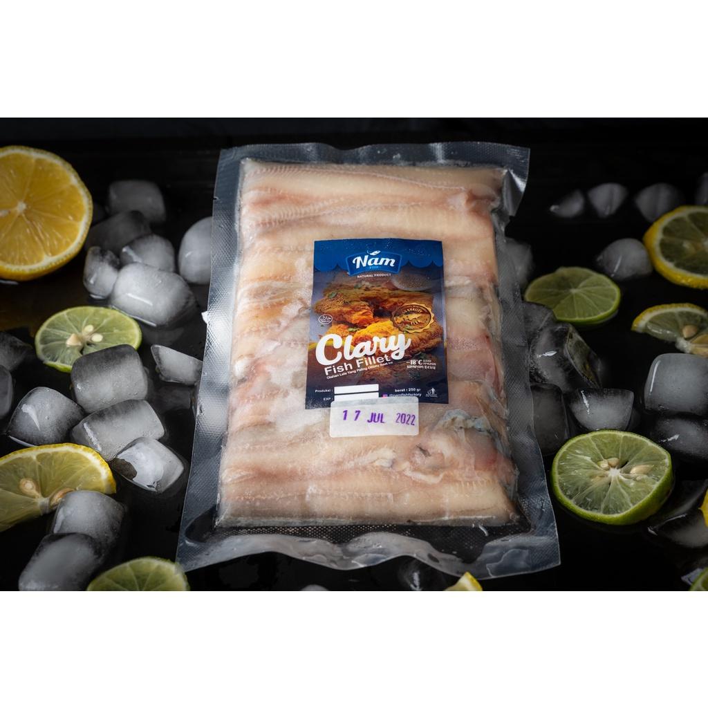 Lele Fillet Frozen Siap Masak 250 gr GRATIS ! Tepung Marinasi