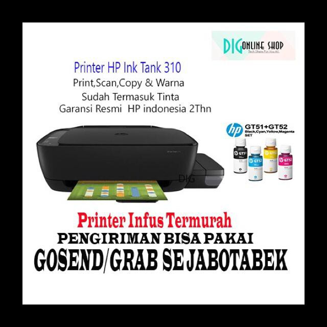 Printer Hp Ink Tank 310 Hp 310 Printer Murah Printer All In One Shopee Indonesia