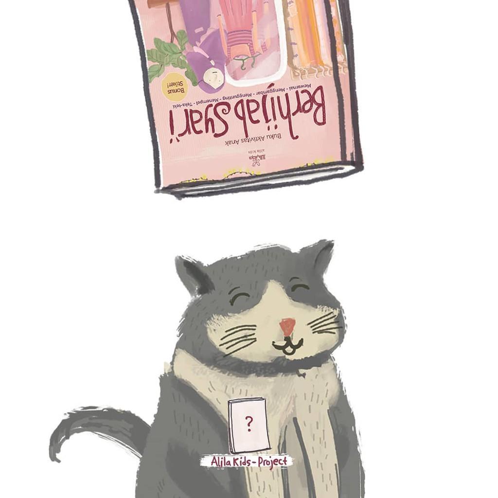 Buku Berhijab Syari Ori By Alila Kids Shopee Indonesia